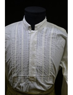 Camisa Espiga bordada