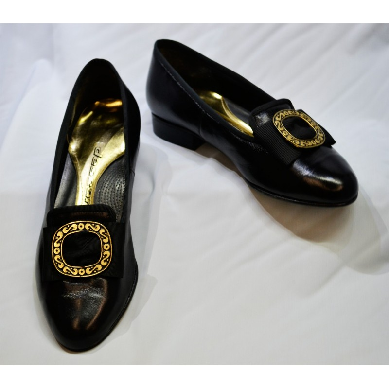 Zapatos Chapín de piel