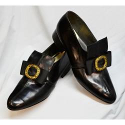 Zapatos Felipe II de piel