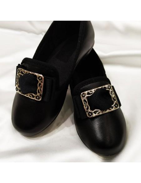 Zapato fallero chapín piel sintética