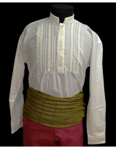 Camisa Reja bordada