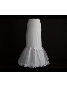 Cancan de novia para vestido sirena