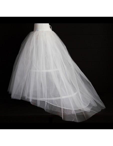 Cancan de novia para vestido princesa con cola
